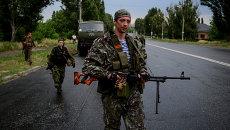 Ситуация в Луганской области, архивное фото