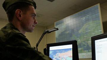 Командный пункт системы предупреждения о ракетном нападении РЛС класса Воронеж-ДМ. Архивное фото