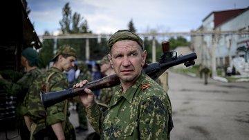 Народное ополчение Луганска, архивное фото