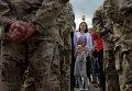 """Военные украинской армии на церемонии присяги батальона """"Азов"""" на верность"""
