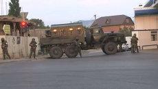 Силовики уничтожили двух боевиков в Дагестане. Кадры спецоперации