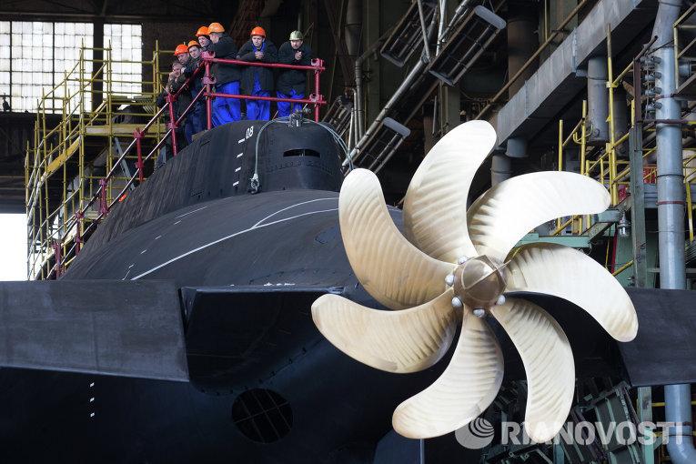 винты гребные подводных лодок
