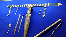 Золотые сокровища скифов. Архивное фото