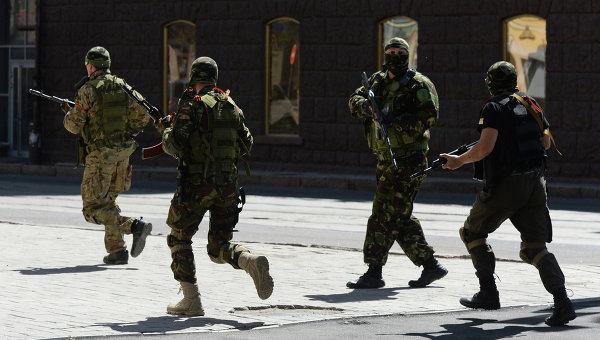 Перестрелка у Донецкого областного УВД