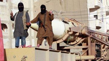 Бойцы ИГИЛ. Архивное фото