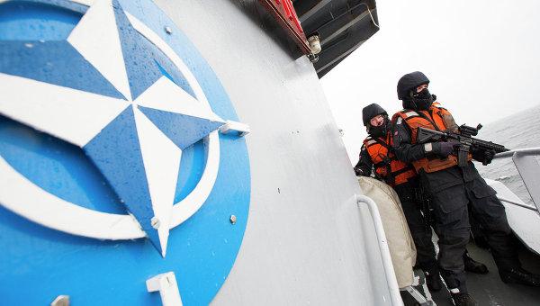 Норвежские военные на корабле