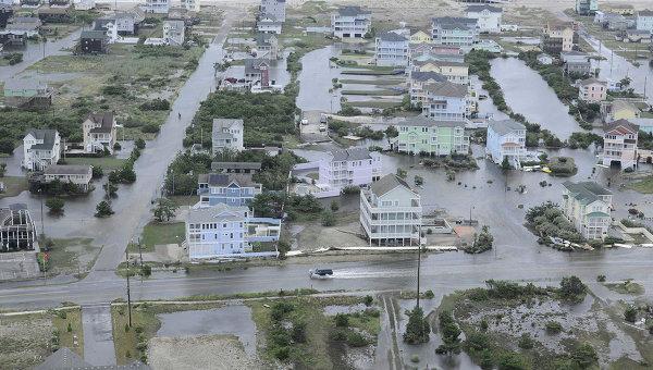 Последствия урагана Артур