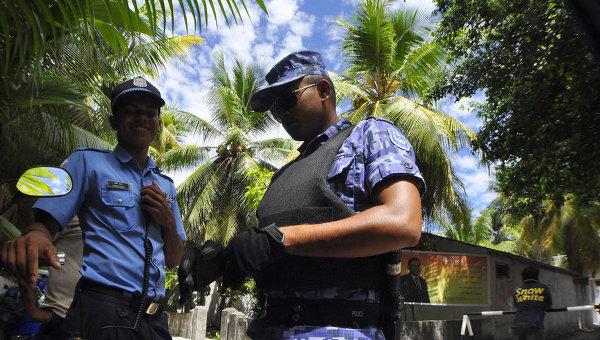 Полиция Мальдивских островов.  Архивное фото