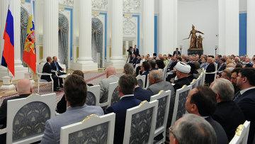 Встреча В.Путина с членами Общественной палаты. Архивное фото