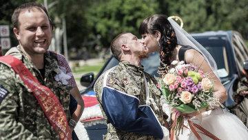 Первое официальное бракосочетание в Новороссии