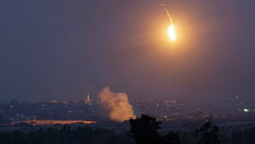 Палестино-израильский конфликт. Архивное фото