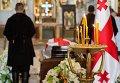 Гражданская панихида по бывшему президенту Грузии Э.Шеварднадзе
