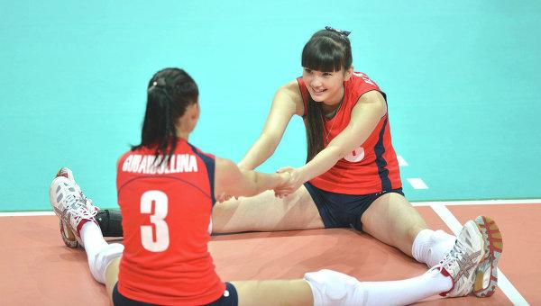 Казахстанская волейболистка Сабина Алтынбекова