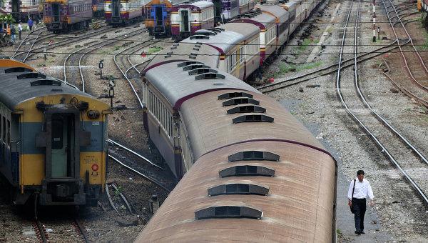 ВТаиланде нажелезнодорожной станции произошел взрыв