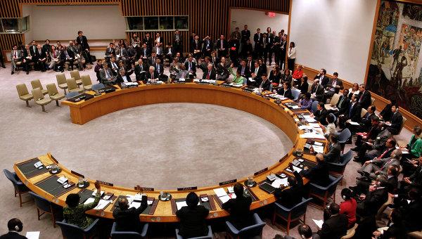 Заседание ООН. Архивное фото
