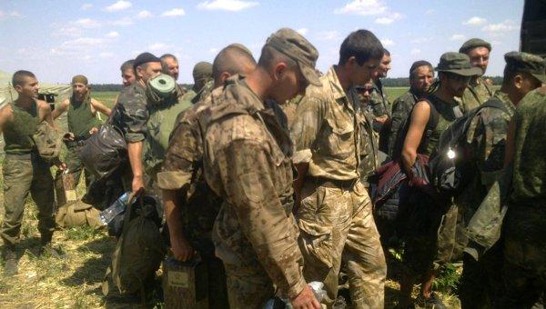 Украинские военнослужащие в Ростовской области. Архивное фото