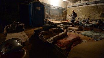 Бомбоубежище в городе Горловка Донецкой области