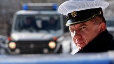 Боснийский полицейский. Архивное фото