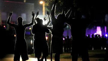 Массовые беспорядки в городе Фергюсон, США