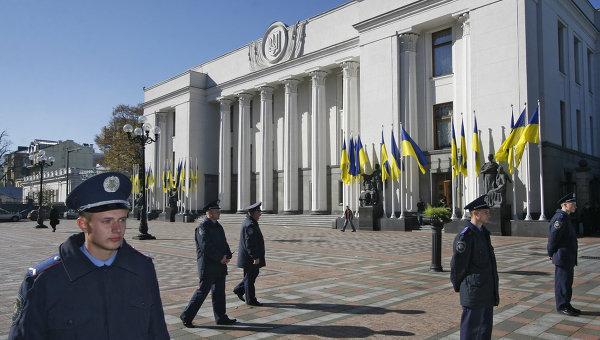 Здание Верховной Рады Украины. Архивное фото