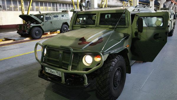 Бронеавтомобиль Тигр. Архивное фото