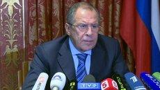 Прекращение огня должно быть безусловным – Лавров о ситуации на Украине