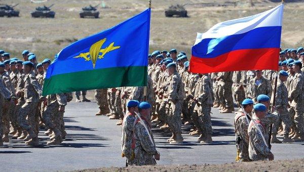 Учения КСОР ОДКБ Взаимодействие - 2014 в Казахстане. Архивное фото