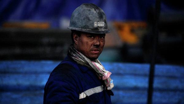 Китайский шахтер, архивное фото