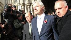 Основатель сайта Wikileaks Джулиан Ассанж. Архивное фото