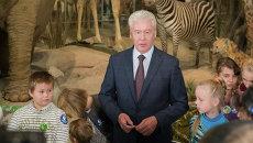 Сергей Собянин посетил интерактивный образовательный центр «Познай себя – познай мир» в Дарвиновском музее
