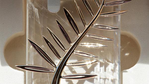 Золотая пальмовая ветвь  Каннского кинофестиваля. Архивное фото