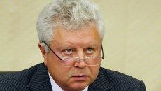 Первый заместитель председателя Комитета Совета Федерации по обороне и безопасности Евгений Серебренников. Архивное фото