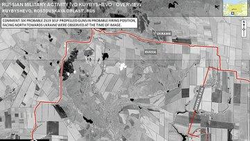 Спутниковый снимок, якобы доказывающий присутствие РФ на Украине