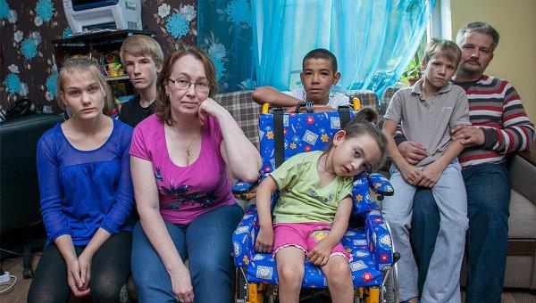 Приемная семья из Карелии