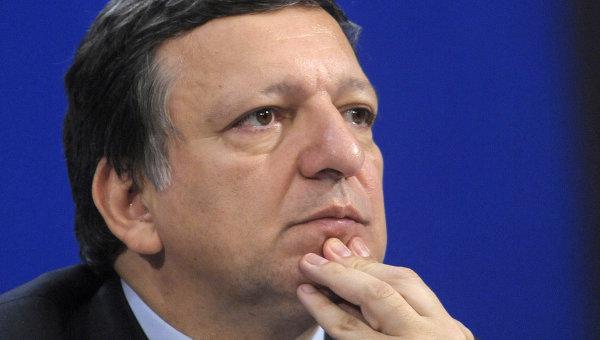 Глава Еврокомиссии Жозе Мануэл Баррозу. Архив