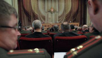 Заседание расширенной коллегии министерства обороны РФ. Архивное фото