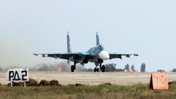 Учения морской авиации Северного флота в Крыму