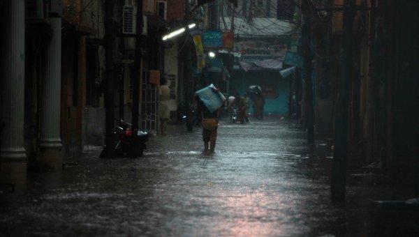 Последствия наводнения в Пакистане. Архивное фото