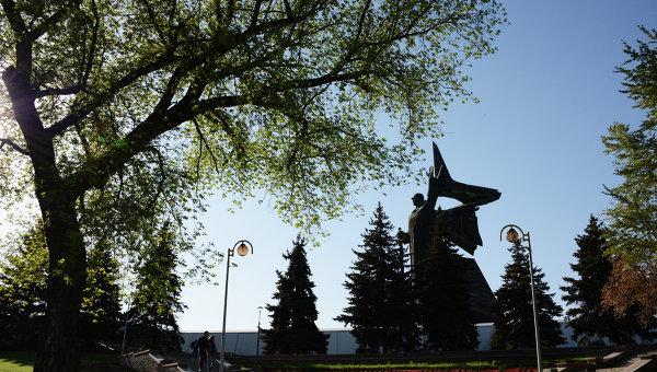 Памятник освободителям Донбасса в Донецке. Архивное фото