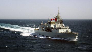 Канадский военный корабль Toronto. Архивное фото