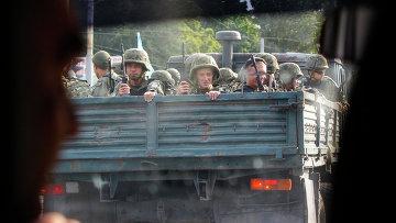 Украинские военные в Мариуполе. Архивное фото