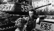 Экипаж советского тяжелого танка ИС-2
