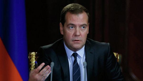 Д.Медведев. Архивное фото