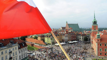 Вид на Варшаву, архивное фото