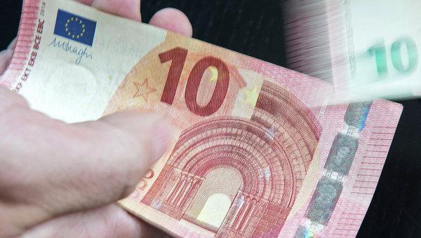 Новая банкнота достоинством 10 евро