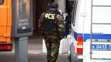 Работник ФСБ. Архивное фото