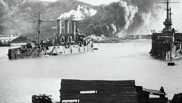 Оборона Порт-Артура. Архивное фото