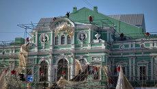 Открытие Большого драматического театра им. Г.А. Товстоногова после реконструкции. Архивное фото