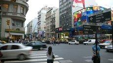 Аргентина. Буэнос-Айрес. Архивное фото
