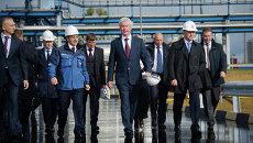 Посещение Собяниным ОАО Газпромнефть — Московский НПЗ